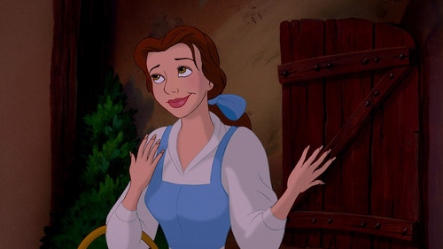 Random achtergrond called Beauty and the Beast - Belle