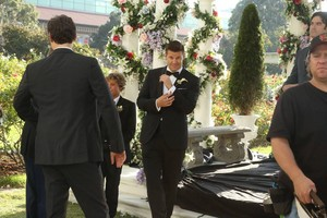 "Behind the Scenes фото from BONES: ""The Woman In White"""