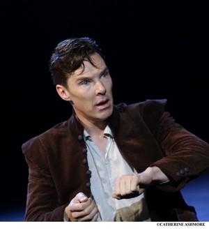 Benedict performing at NT50