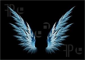 Blue Энджел wings