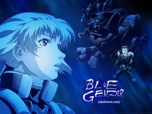 BlueGender kertas dinding