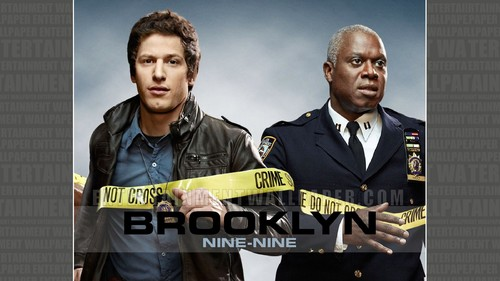 Brooklyn Nine-Nine achtergrond possibly with a green beret, vermoeienissen, veldtenue, and slag bij jurk called Brooklyn Nine-Nine