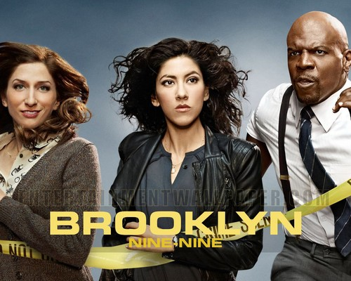 Brooklyn Nine-Nine wallpaper possibly containing a well dressed person, a business suit, and a dress suit titled Brooklyn Nine-Nine