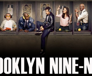 Brooklyn Nine-Nine karatasi la kupamba ukuta containing a business suit entitled Brooklyn Nine-Nine