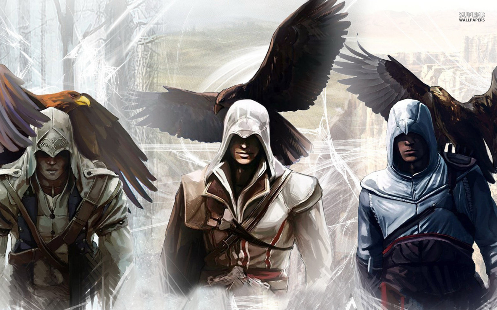 Brotherhood Of The Creed The Assassin S Wallpaper 35951426 Fanpop