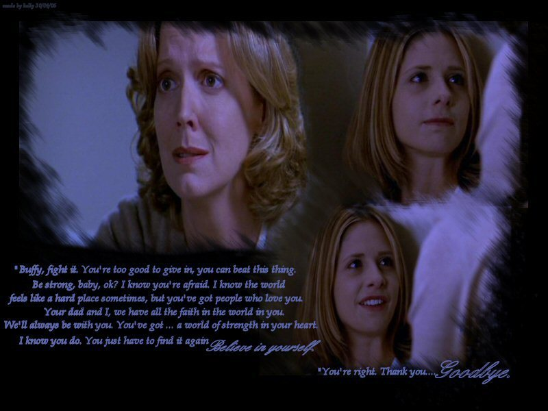 Buffy and Joyce Summers: A Bond Between Mother and Daughter