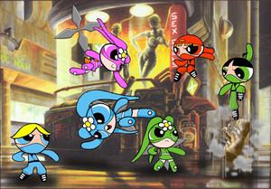 Bunnies VS. Ninjas