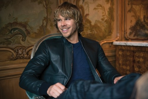 NCIS: Los Angeles 壁纸 with a well dressed person called CBS Watch Magazine!