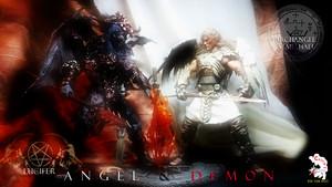 Calvin's Custom One sixth Angel –Jäger der Finsternis and Demon figure