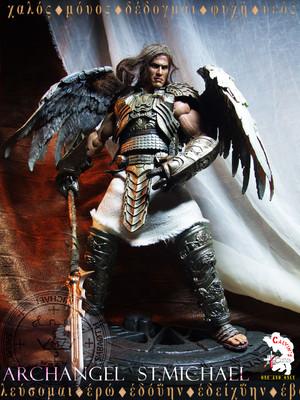 Calvin's Custom one sixth Archangel Michael figure