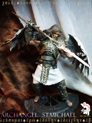 Calvin's Custom one sixth Archangel Michael figure