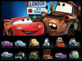 Cars Collage - disney-pixar-cars-2 fan art