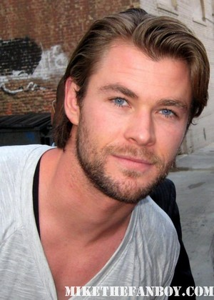 Chris Hemsworth(my #3 hottie)