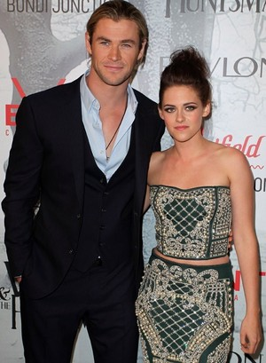 Chris and Kristen