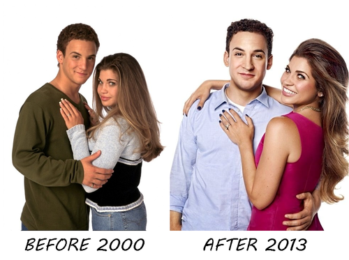 girl meets world topanga and cory Though topanga is upset another girl kissed him, she realizes cory feels horrible about it the sequel series to boy meets world follows cory and topanga.