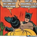 Batman vs Robin (DBZ Haters) - dragon-ball-z photo