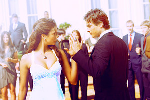 Damon and Elena wedding