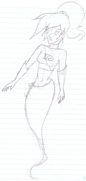 Danni Phantom Sketch