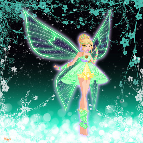 the winx club wallpaper titled Daphne: Spiritix Transformation