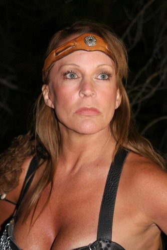 Former WWE Diva... Debra پیپر وال titled Debra in Gathering of Heroes