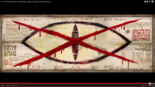 gravity falls fondo de pantalla called Decode please. XX - The Order Revealed