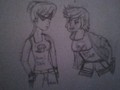 Dirk and Jake :3 - homestuck fan art
