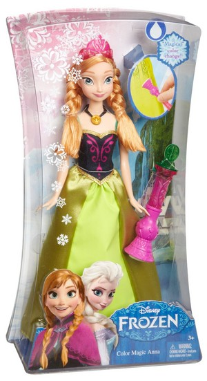 Disney Frozen Color Change Anna Doll