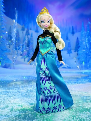 disney Frozen Color Change Elsa Doll