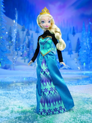 Elsa and Anna wallpaper called Disney Frozen Color Change Elsa Doll