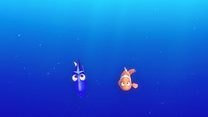 Disney•Pixar Screencaps - Dory & marlijn, marlin