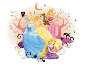 迪士尼 Princesses 万圣节前夕