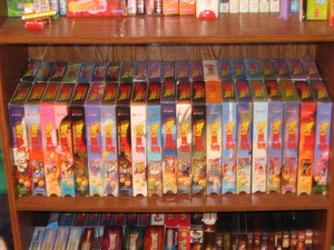 Dragon Ball Z VHS Collection