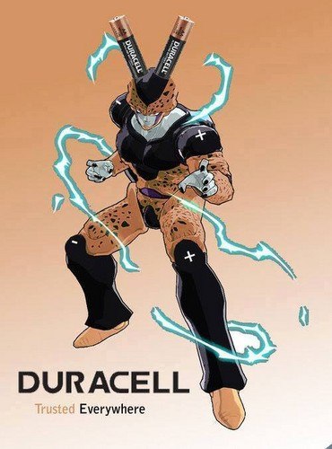 Dragon Ball Z wallpaper entitled Duracell