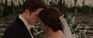 Edward and Bella's wedding<3