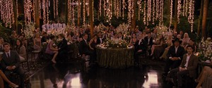 Edward and Bella's wedding<3