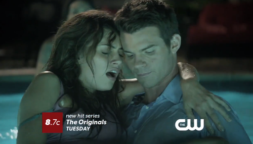 Elijah & Hayley پیپر وال titled Elijah Mikaelson&Hayley Marshall in 1x06 promo 'Fruit of the Poisoned Tree'.