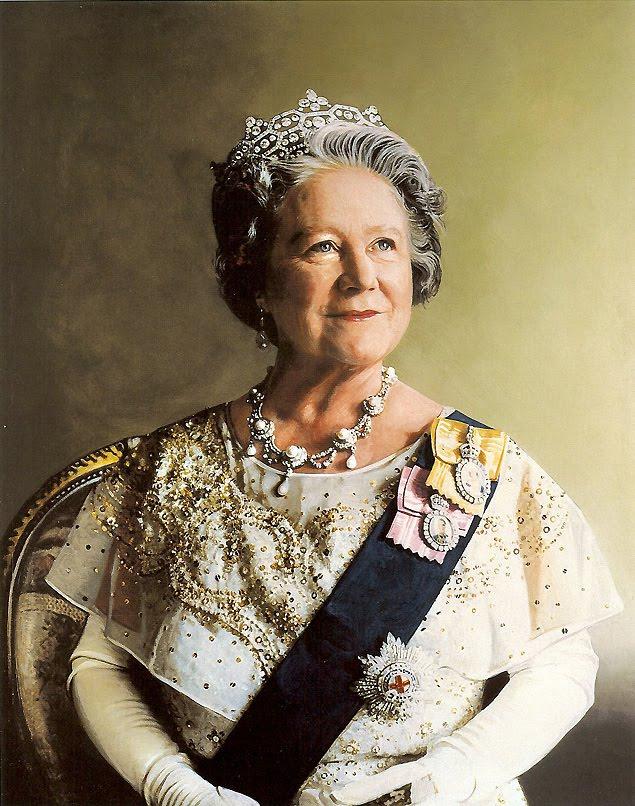 Kings and Queens images Elizabeth, the Queen Mum wallpaper