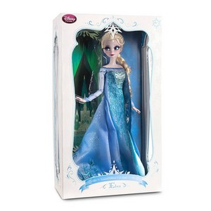 Elsa डिज़्नी Store Limited Edition doll