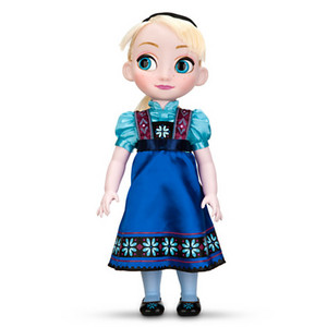 Little Elsa Disney Store doll