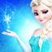 Elsa the Snow কুইন প্রতীকী