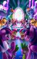Equestria Girls in Equestria - my-little-pony-friendship-is-magic fan art