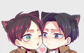 Eren x Levi ♥♥ - lulu_kururugi photo