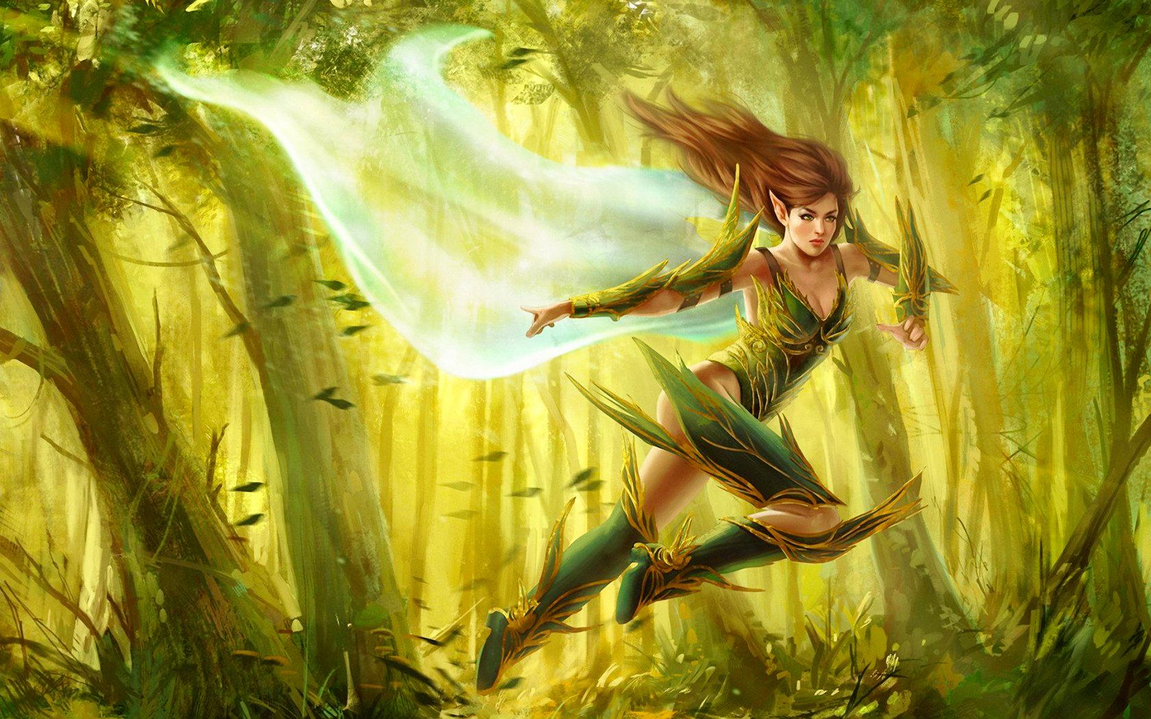Elves fantasy girl hentia clip