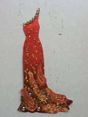 Fiery dress :)