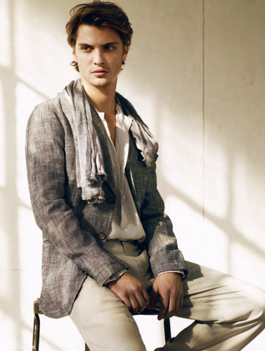 Fifty Shades of Grey wallpaper probably containing a well dressed person, a hip boot, and an outerwear entitled 50 Shades newest cast member,Luke Grimes(Elliot Grey)