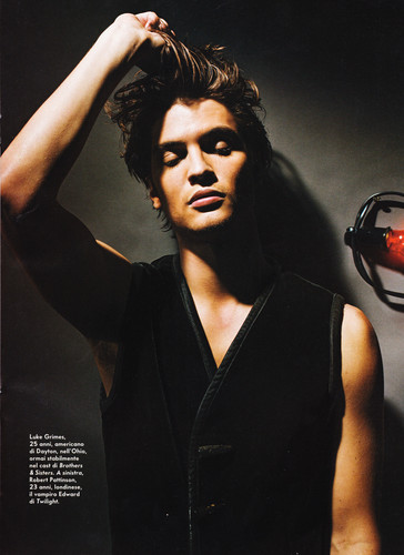 《五十度灰》 壁纸 called 50 Shades newest cast member,Luke Grimes(Elliot Grey)