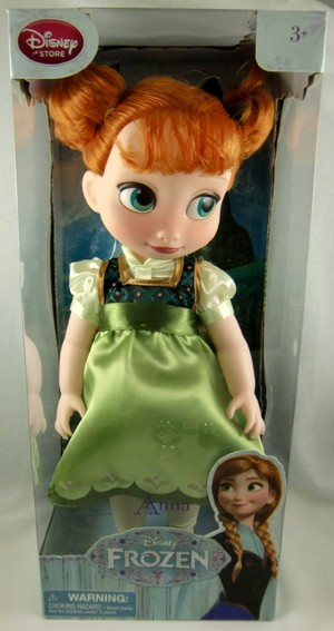 겨울왕국 Anna Toddler Doll