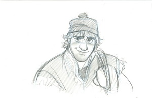 Frozen Character Visual Development Sketches