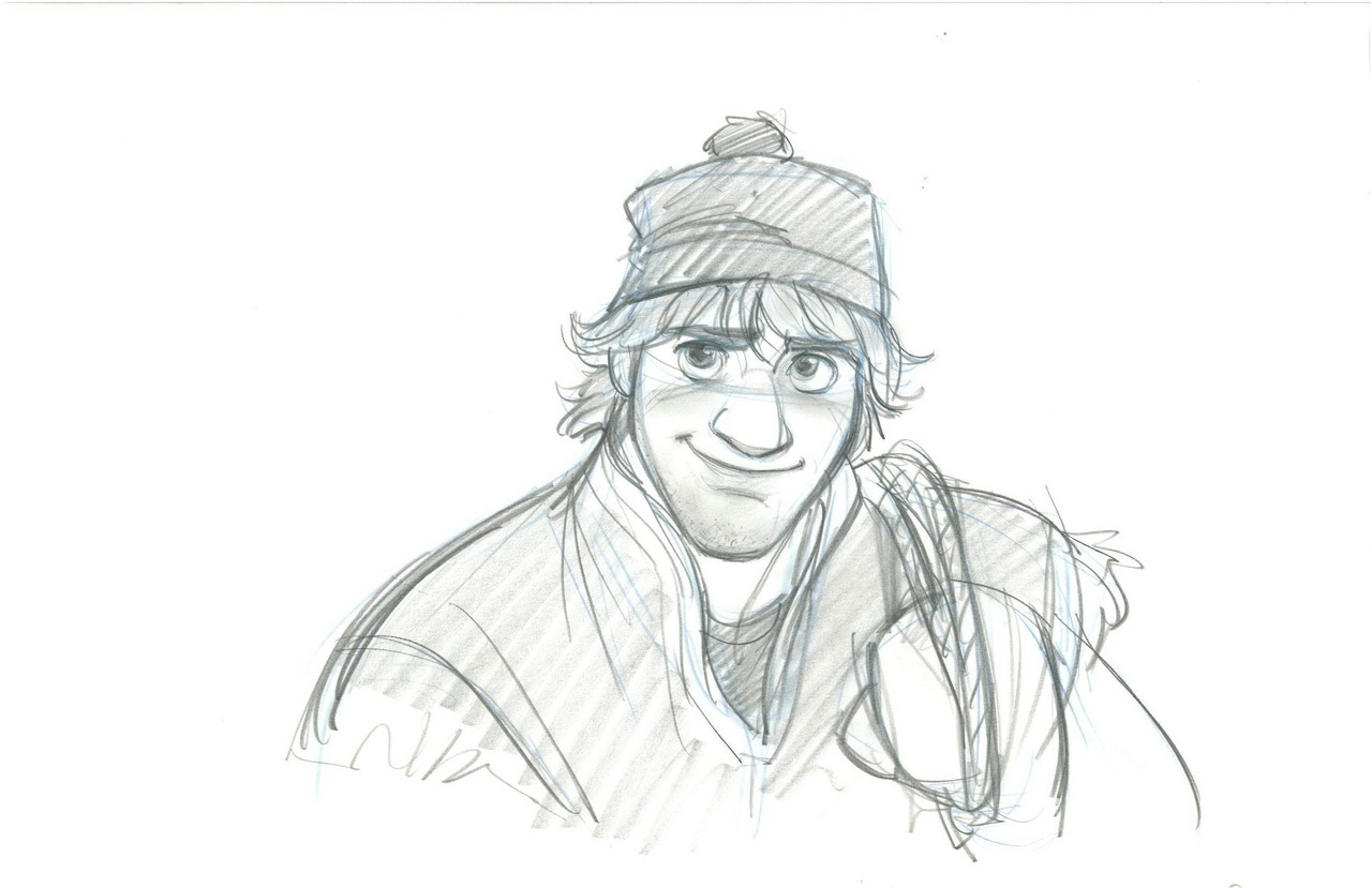 Frozen Character Visual Development Sketches - Frozen Photo (35955765 ...