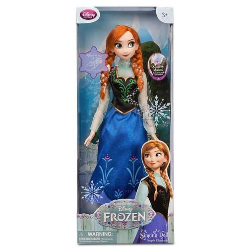 Elsa und Anna Hintergrund probably with Anime entitled Frozen Disney Store Singen Anna Doll